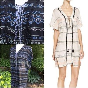 Gypsy05 Embroidered Tunic/Coverup